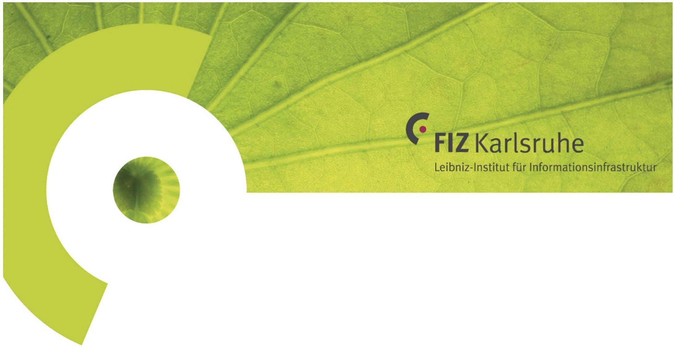 FIZ Karlsruhe – Leibniz-Institut für Informationsinfrastruktur